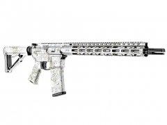 AR-15 M4 Rifle Skin - PenCott SnowDrift