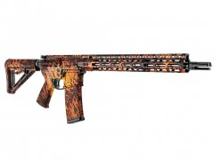 【取寄せ】AR-15 M4 Rifle Skin - Prym1 Fire Storm