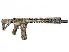 【取寄せ】AR-15 M4 Rifle Skin - Realtree Edge