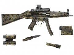 """【取寄せ】Gear Skin 8"""" x 50"""" - Prym1 Woodlands"""