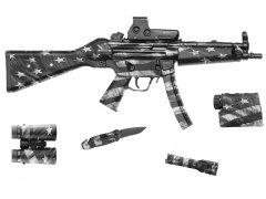 """【取寄せ】Gear Skin 8"""" x 50"""" - Victory Grey"""