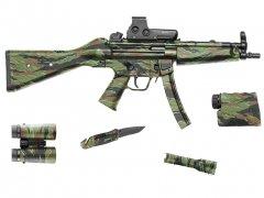 """【取寄せ】Gear Skin 8"""" x 50"""" - Vietnam Tiger Stripe"""
