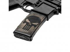 【取寄せ】M4 Mag Skins 3PacK - Skull Black