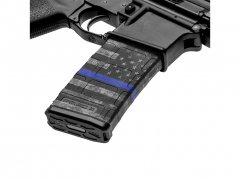 M4 Mag Skins 3PacK - Thin Blue Line