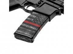 【取寄せ】M4 Mag Skins 3PacK - Thin Red Line