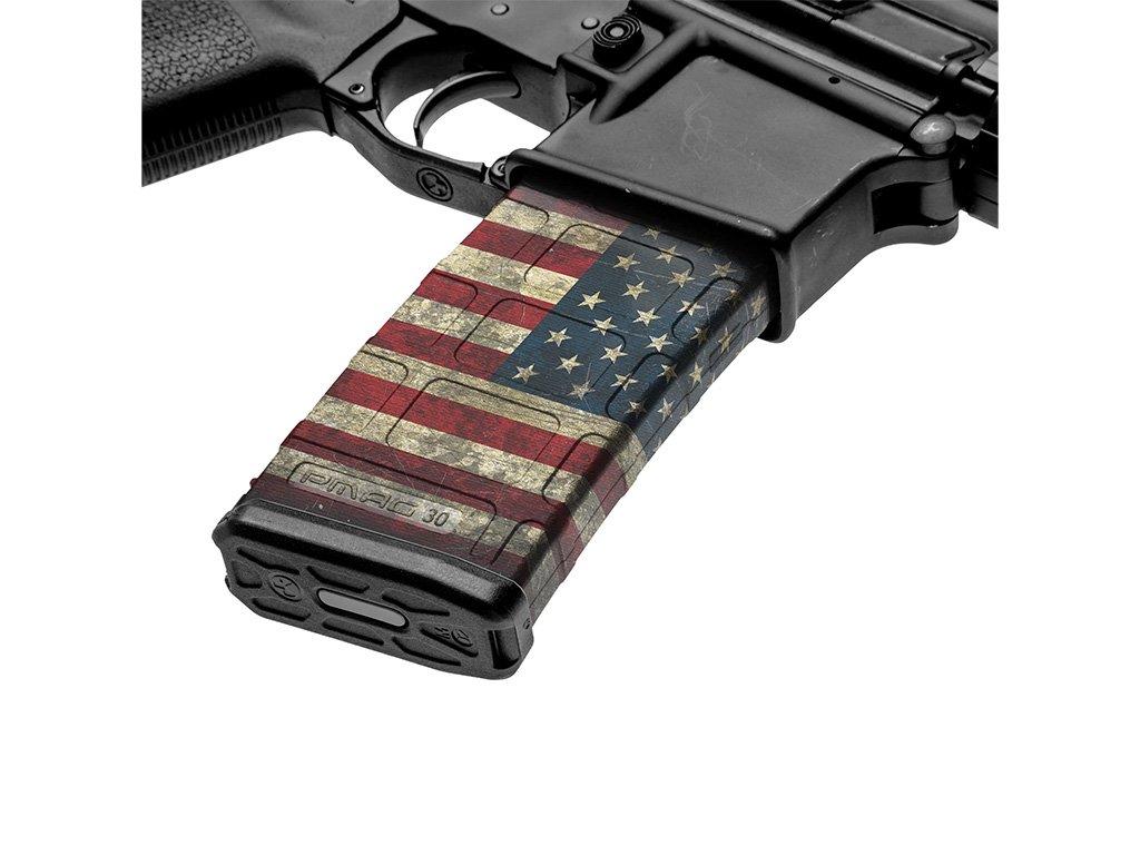 【取寄せ】M4 Mag Skins Single Pack - America