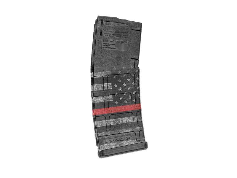 【取寄せ】M4 Mag Skins Single Pack - Thin Red Line