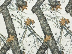 Mossy Oak Winter 500D Nylon  生地