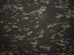 Multicam Black CORDURA 500D Nylon 生地
