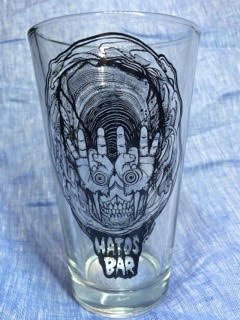 Hatos Bar US PINT GLASS (5OOML)