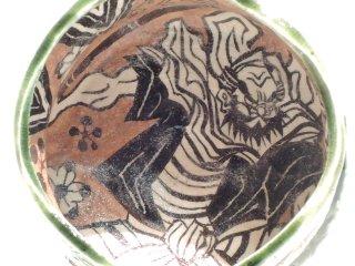 深見文紀/漫画織部自由杯なたを持つ侍之画 205   FUKAMI Fuminori / Mangaoribe jiyuhai 205