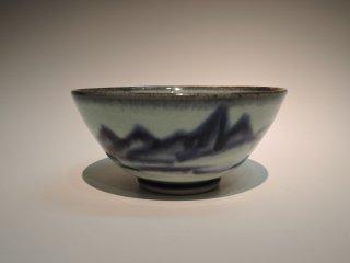 近藤悠三/山呉須茶碗   KONDO Yuzou / Yamagosu Chawan