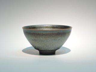 安房幸男/窯変油滴天目茶碗   AWA Sachio / Youhen yuteki tenmokuChawan