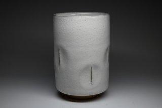 清水卯一/白釉湯呑   SHIMIZU Uichi / Hakuyuu yunomi