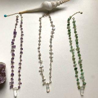 lovely stone necklace ~Chrysoprase~