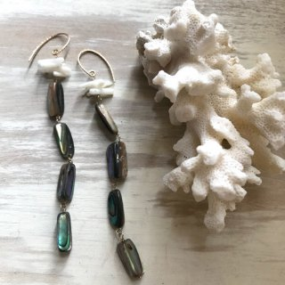 Abalone shell long Pierce
