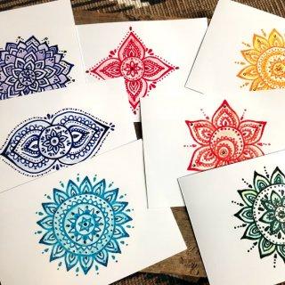 chakra Post card