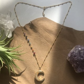 Moon Rainbow Necklace