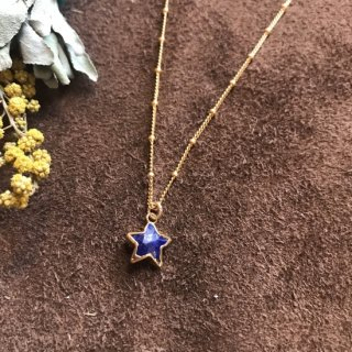 Star necklace -Lapis-