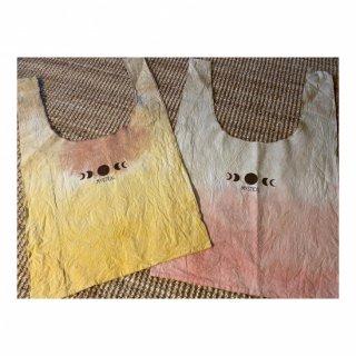 Plant dyeing marche Bag    ~L~