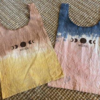 Plant dyeing marche Bag    ~s~