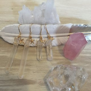 Crystal Quartz/starfish Pierce(14kgf)