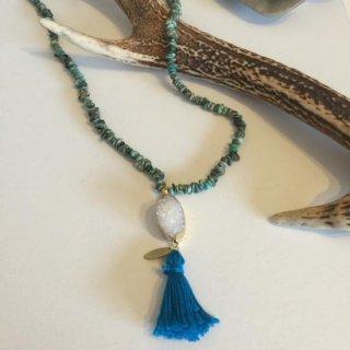 Vinyasa ★druzy Long necklace