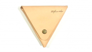 DIFFUSER ディフューザー ITALIAN LEATHER TRIANGLE CASE / White