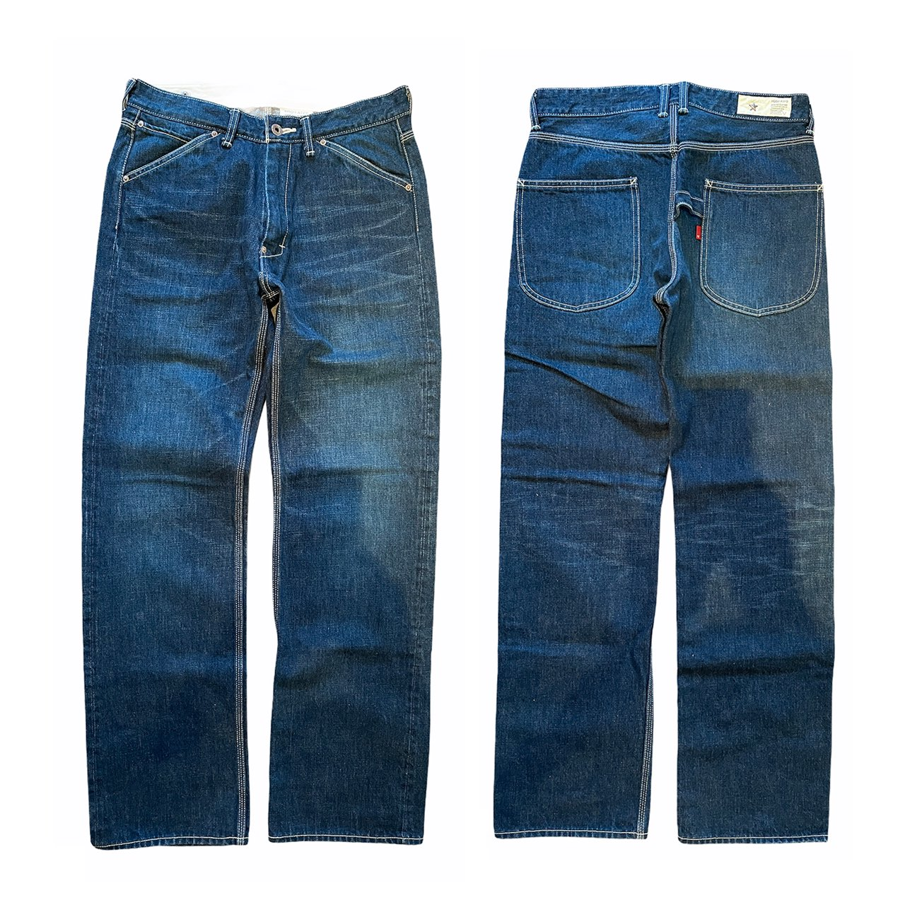 HOSU 332 PAINTER DENIM PANTS USED PROCESSING(4 YEARS)