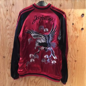 REVERSIBLE SKA JACKET (HAWK)/RED