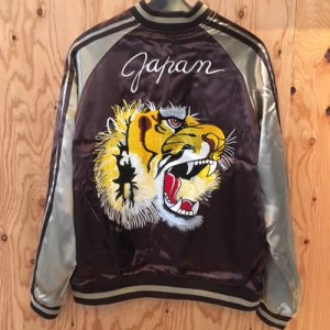 REVERSIBLE SKA JACKET (TIGER)/BROWN