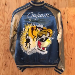 REVERSIBLE SKA JACKET (TIGER)/BLUE