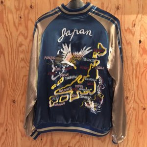 REVERSIBLE SKA JACKET (HAWK&JAPAN)/BLUE