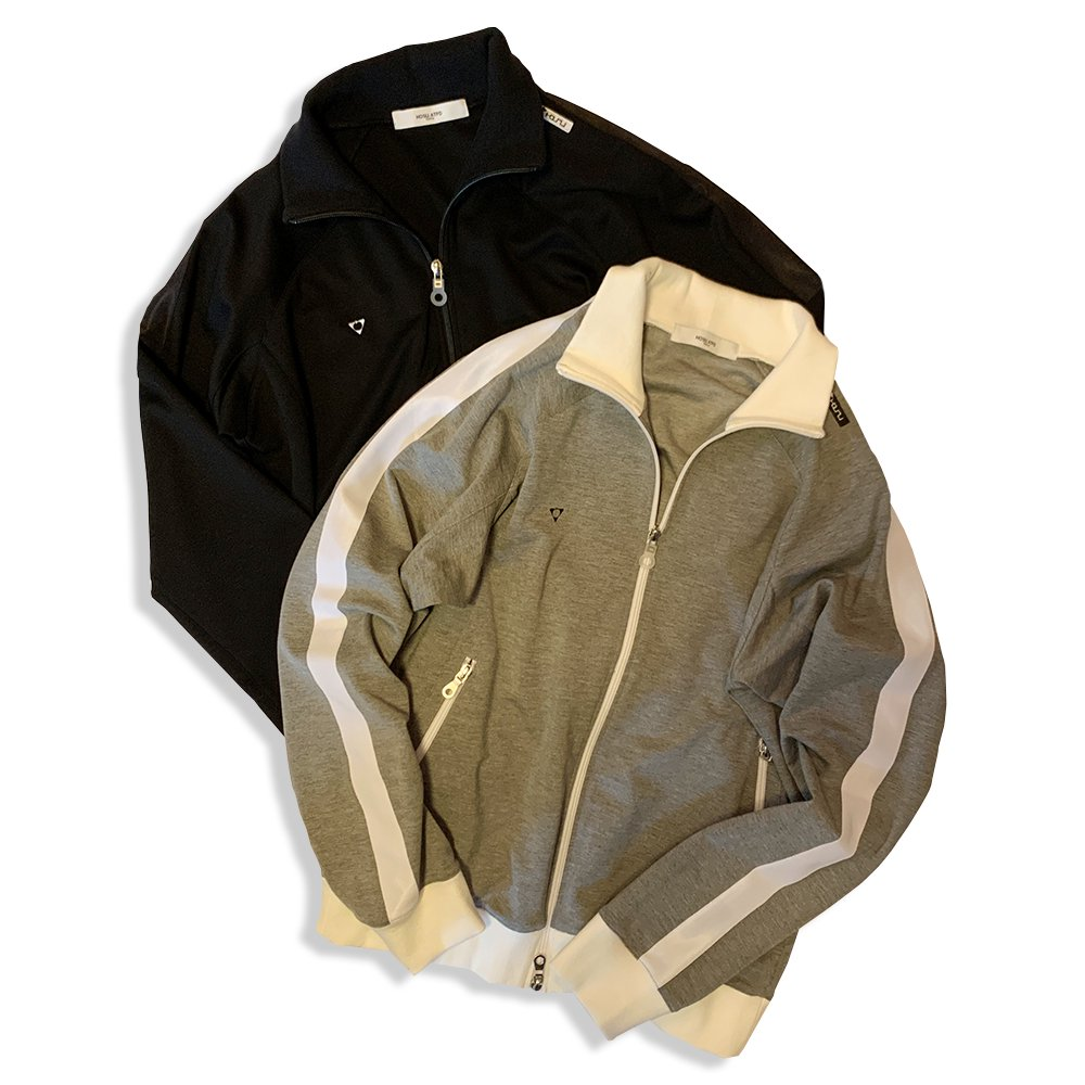 <img class='new_mark_img1' src='//img.shop-pro.jp/img/new/icons55.gif' style='border:none;display:inline;margin:0px;padding:0px;width:auto;' />Lefty-h STRETCH TRACK JACKET/BLACK,GREY