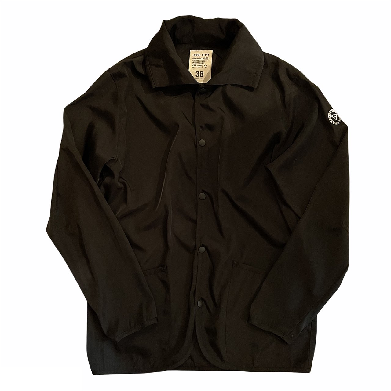 HOSU ORIGINAL COACH JACKET/BLACK