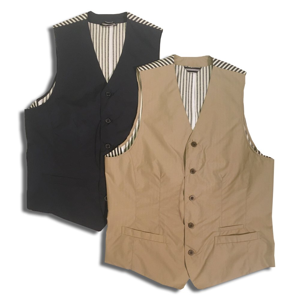 <img class='new_mark_img1' src='//img.shop-pro.jp/img/new/icons1.gif' style='border:none;display:inline;margin:0px;padding:0px;width:auto;' />HOSU WASHER NYLON VEST/NAVY,BEIGE