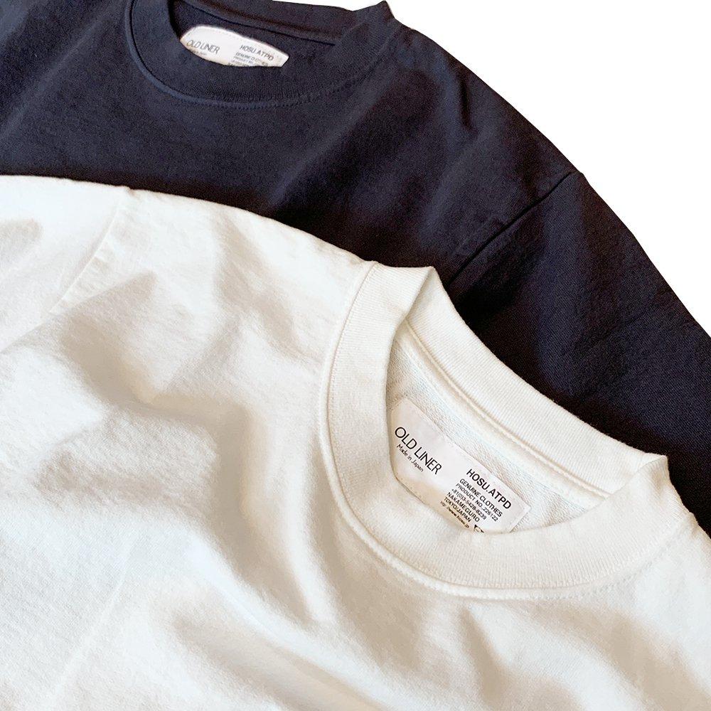 HOSU USAコットン ヘビーオンスTシャツ/ホワイト、スミクロ