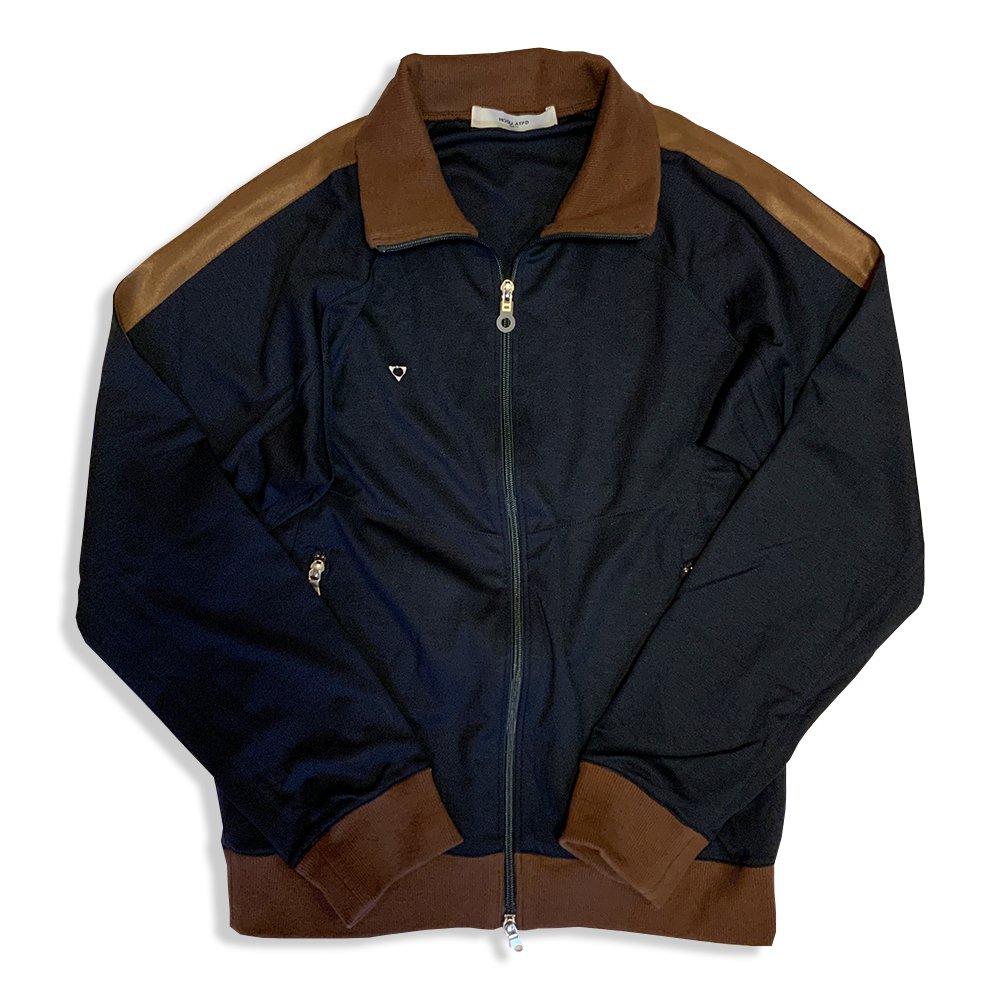 HOSU ストレッチトラックジャケット/グレー、ネイビー、ブラウン、ブラック