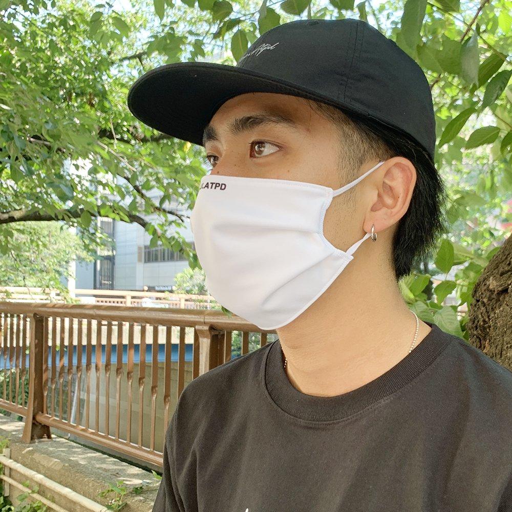 《抗菌・防臭・吸汗速乾 DRYマスク》アンチバクテリアルマスク/ホワイト、グレー
