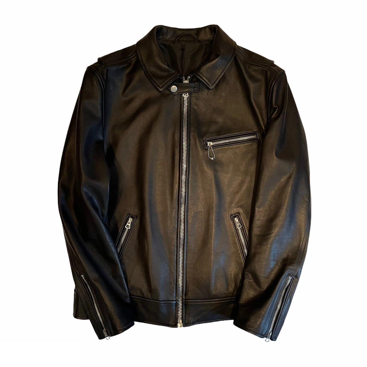 HOSU Sライダースジャケット(カウハイド)/ブラック