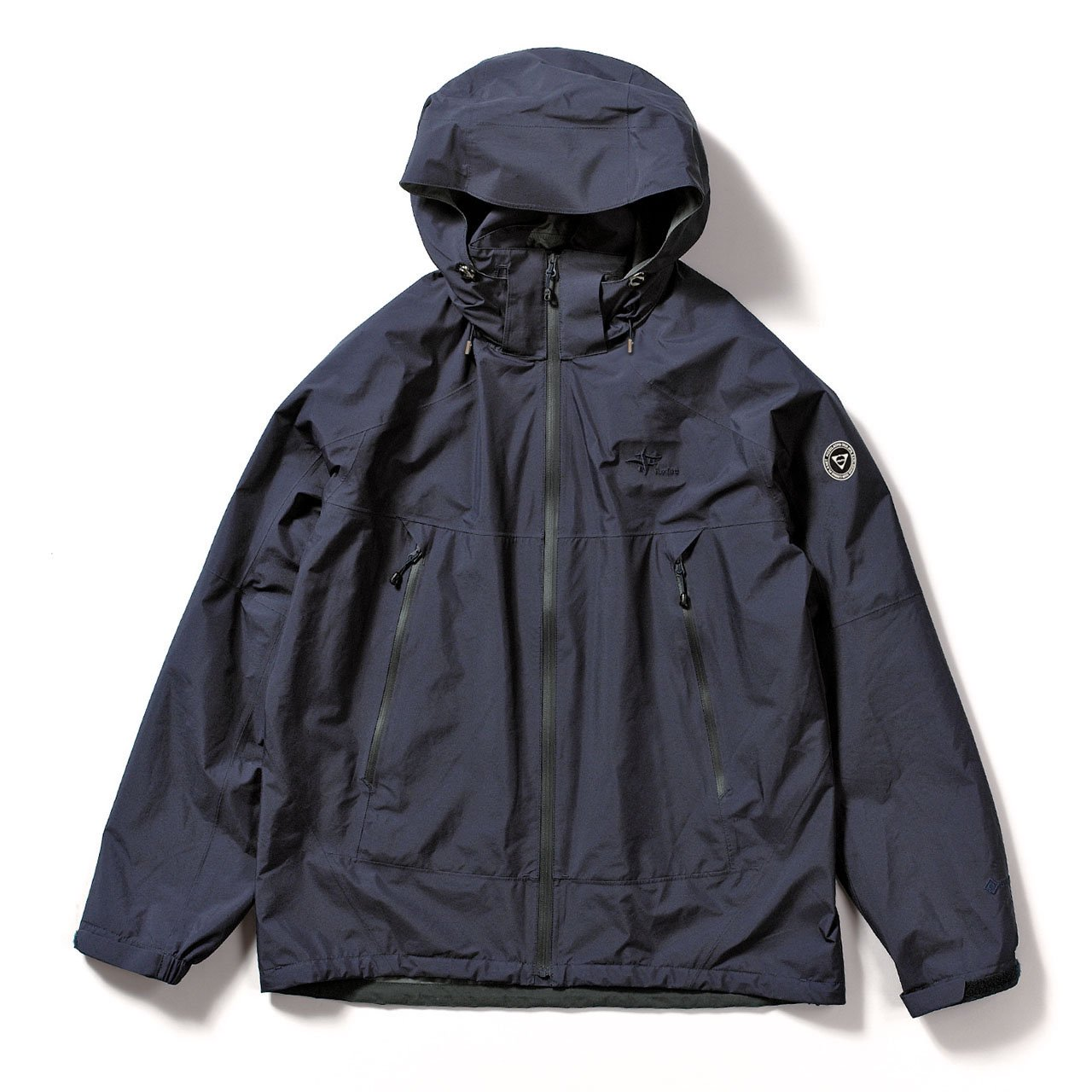 <img class='new_mark_img1' src='https://img.shop-pro.jp/img/new/icons1.gif' style='border:none;display:inline;margin:0px;padding:0px;width:auto;' />Foxfire×HOSU GORE-TEX アーバントレックジャケット(LIMITEDモデル)/インディゴ