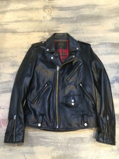 HOSU GOAT LEATHER W RIDER'S JACKET