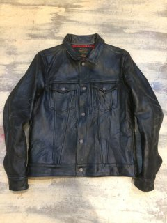 HOSU GOAT LEATHER JACKET (DENIM JACKET TYPE)