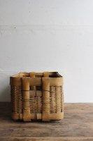 日本 古道具<br>竹籠