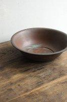 日本 古道具<br>銅のたらい