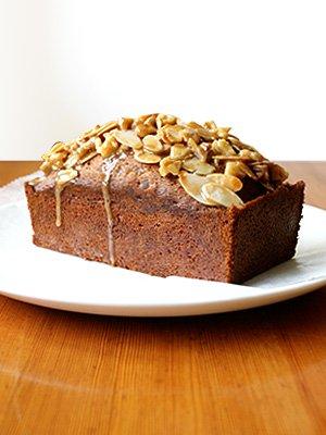 キャラメルジンジャーとナッツのケーキ