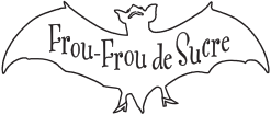 Frou Frou de Sucre(フルフル ド シュクル)ロゴ