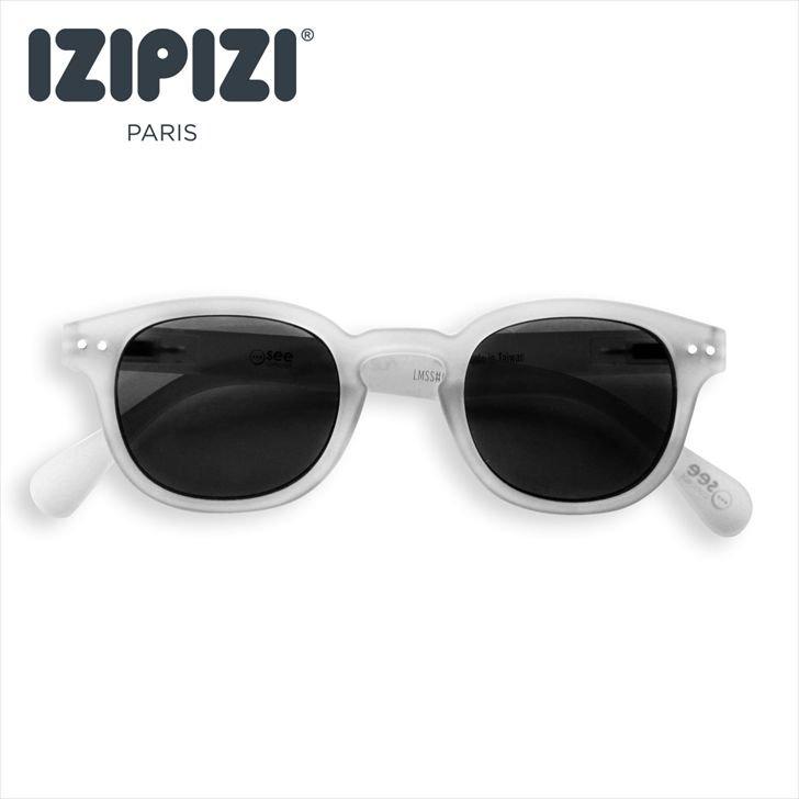 【IZIPIZI / イジピジ】 SUN JUNIOR #C / サン・ジュニア・シー (ホワイト) 旧See Concept,ボスリントン,子供サングラス
