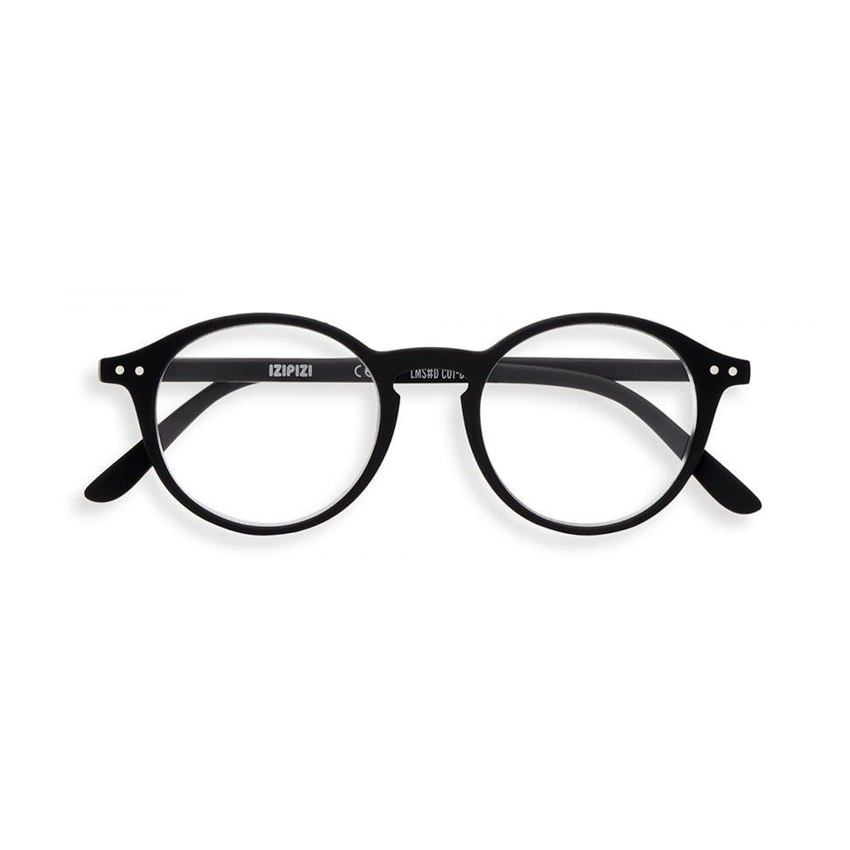【IZIPIZI / イジピジ】(旧See Concept シーコンセプト) READING #D / リーディング・ディー (ブラック) | ボストン,既成老眼鏡,リーディンググラス