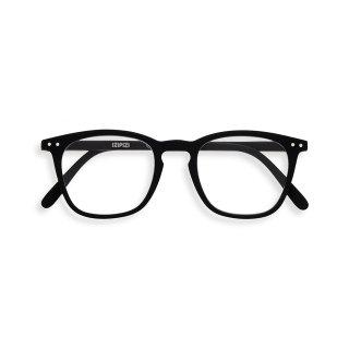 【IZIPIZI】READING #E BLACK 旧See Concept,イジピジ・リーディング・イー(ブラック) ウェリントン,大きい,リーディンググラス,既成老眼鏡